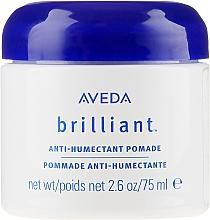 Düfte, Parfümerie und Kosmetik Seidenartige Haarpomade mit Rizinus- und Reiskleieöl - Aveda Brilliant Anti-Humectant Pomade