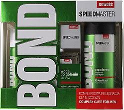 Düfte, Parfümerie und Kosmetik Set - Bond Speedmaster (deo/150ml + lotion/100ml + foam/50ml)