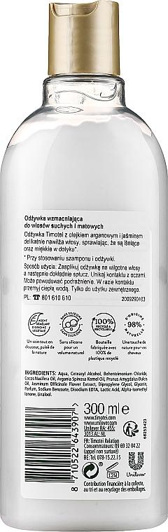Haarspülung mit Jasminblüte, Almond- und Arganöl - Timotei Precious Oils Conditioner — Bild N2