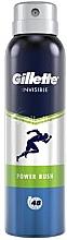 Düfte, Parfümerie und Kosmetik Deospray Antitranspirant - Gillette Power Rush Invisible Antiperpirant Spray