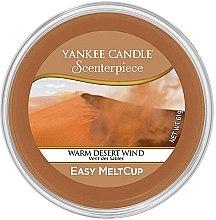 Düfte, Parfümerie und Kosmetik Tart-Duftwachs Warm Desert Wind - Yankee Candle Warm Desert Wind Scenterpiece Melt Cup