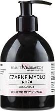 Düfte, Parfümerie und Kosmetik Schwarze Flüssigseife Rose - Beaute Marrakech Rose Black Liquid Soap