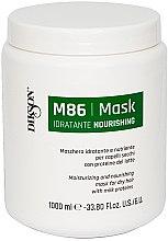 Düfte, Parfümerie und Kosmetik Feuchtigkeitsspendende Pflegemaske für trockenes Haar mit Milchproteinen - Dikson M86 Nourishing Mask