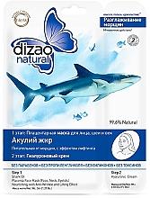 Düfte, Parfümerie und Kosmetik Zweiphasige Gesichtsmaske mit Haifischöl - Dizao