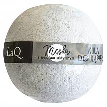 Düfte, Parfümerie und Kosmetik Badebombe mit Aktivkohle für Männer - LaQ Bath Bomb
