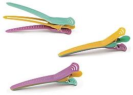 Düfte, Parfümerie und Kosmetik Haarspangen, farbig, 4 St. - Olivia Garden Double Clip Petite