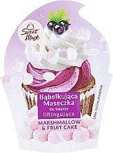 Düfte, Parfümerie und Kosmetik Straffende Gesichtsmaske - Marion Sweet Mask Marshmallow & Fruit Cake