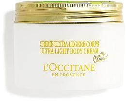 Düfte, Parfümerie und Kosmetik Ultra leichte Körpercreme mit Sheabutter und Bergamotte - L'Occitane Shea Butter Bergamot Ultra Light Body Cream