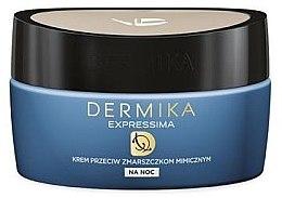 Düfte, Parfümerie und Kosmetik Regenerierende Anti-Falten Gesichtscreme 50+ - Dermika Expressima Face Cream