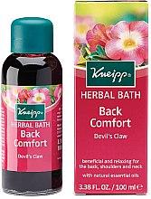 Düfte, Parfümerie und Kosmetik Badeöl mit natürlichen ätherischen Ölen - Kneipp Back Comfort Devil's Claw Herbal Bath