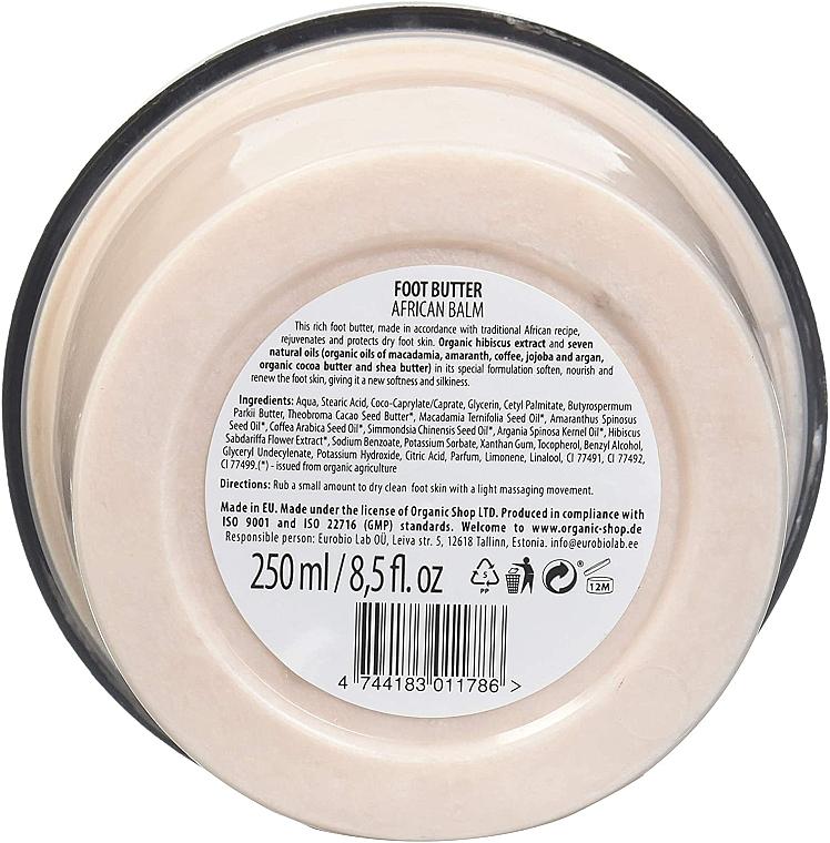 Fußbutter mit Bio Rooibos und 7 Ölen - Organic Shop Organic Rooibos & 7 Oils Foot Butter — Bild N3