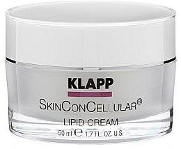 Düfte, Parfümerie und Kosmetik Nährende Gesichtscreme mit Lipiden - Klapp Skin Con Cellular Lipid Cream