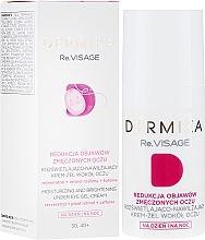 Düfte, Parfümerie und Kosmetik Feuchtigkeitsspendendes Augencreme-Gel für die Tages- und Nachtpflege 30-40+ - Dermika Re.Visage