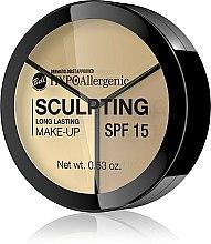 Düfte, Parfümerie und Kosmetik Hypoallergenes Make-up zur Gesichtskonturierung SPF 15 - Bell HypoAllergenic Long Lasting Sculpting Make-Up