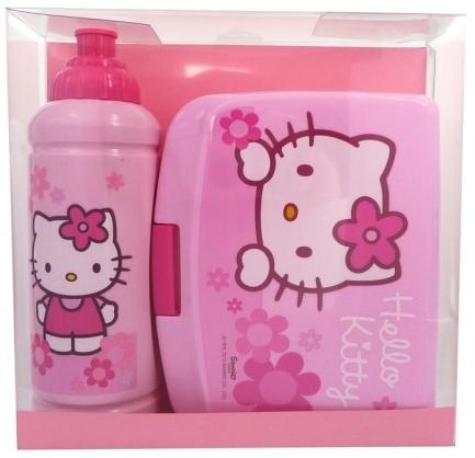 Kinderset - Disney Hello Kitty (Flasche 425ml + Brotdose)