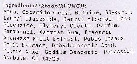 Natürliche Flüssigseife mit Himbeer- und Erdbeerextrakt - Oh!Tomi Piggy Liquid Soap — Bild N3