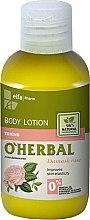 Düfte, Parfümerie und Kosmetik Körperlotion mit Damastrosenextrakt - O'Herbal Body Lotion