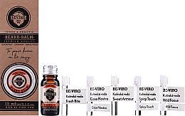 Düfte, Parfümerie und Kosmetik Duftset - Beviro Grapefruit Cinnamon Sandal Wood (Bartöl 10ml + Bartbalsam 15ml + Eau de Cologne 5x1ml)