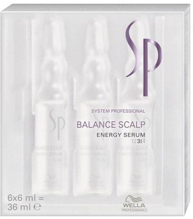 Haarserum für vitales und kräftiges Haar und gegen Haarausfall - Wella SP Balance Scalp Energy Serum — Bild N2