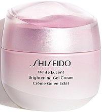 Düfte, Parfümerie und Kosmetik Aufhellende Gesichtsgel-Creme - Shiseido White Lucent Brightening Gel Cream