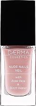 Düfte, Parfümerie und Kosmetik Nagelhärter mit Aloe Vera und Birkenwasser - Daerma Cosmetics Nude Nails Veil Treatment