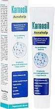 Düfte, Parfümerie und Kosmetik Gesichtsgel mit Silberionen und Carnosin für delikate und zu Akne neigende Haut - Deep Pharma Karnosil Acnohelp