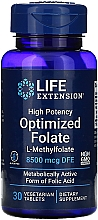Düfte, Parfümerie und Kosmetik Nahrungsergänzungsmittel Folsäure - Life Extensions Optimized Folate