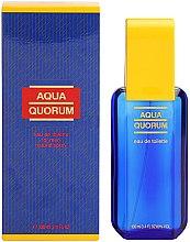 Düfte, Parfümerie und Kosmetik Antonio Puig Aqua Quorum - Eau de Toilette