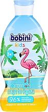 Düfte, Parfümerie und Kosmetik 3in1 Shampoo, Duschgel und Badeschaum für Kinder mit Himbeerduft - Bobini