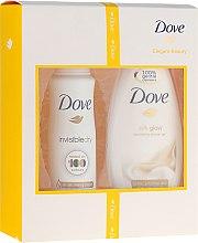 Düfte, Parfümerie und Kosmetik Dove Elegant Beauty - Duftset (Duschgel/250ml + Deodorant/150ml)