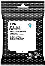 Düfte, Parfümerie und Kosmetik Gesichts- und Körperpeelingtücher - Comodynes Easy Peeling Exfoliating Action Face and Body