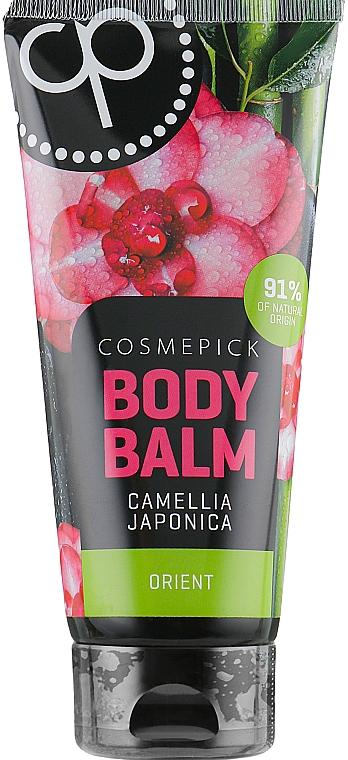 Intensiv feuchtigkeitsspendender Körperbalsam mit japanischer Kamelie - Cosmepick Body Balm Camellia Japonica — Bild N1