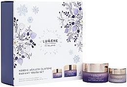 Düfte, Parfümerie und Kosmetik Gesichtspflegeset - Lumene Nordic Ageless [Ajaton] (Gesichtscreme 50ml + Augencreme 15ml)