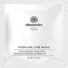 Düfte, Parfümerie und Kosmetik Pflegende Nagelmaske mit Aloe vera und Arganöl - Alessandro Spa Hydra Nail Care Mask