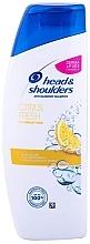 Düfte, Parfümerie und Kosmetik Erfrischendes Anti-Schuppen Shampoo für fettiges Haar mit Zitrusduft - Head & Shoulders Citrus Fresh Shampoo