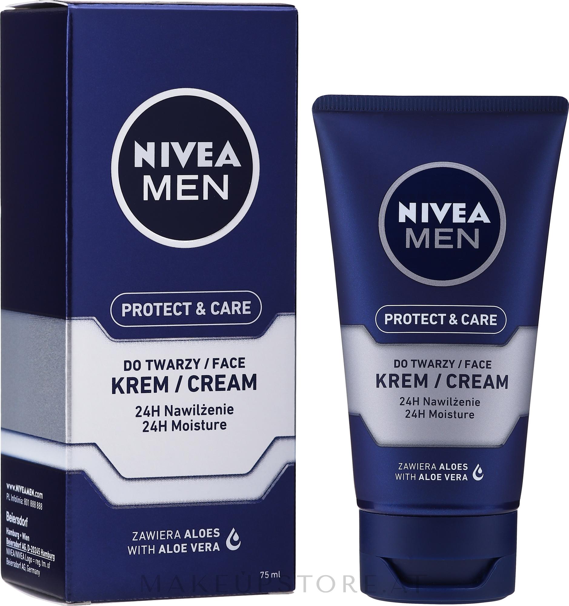 Feuchtigkeitsspendende After Shave Creme - Nivea For Men After Shave Cream — Bild 75 ml