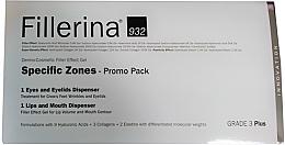 Düfte, Parfümerie und Kosmetik Augen- und Lippenpflegeset - Fillerina Grade 3+ (Lippengel 7ml + Augengel 15ml)