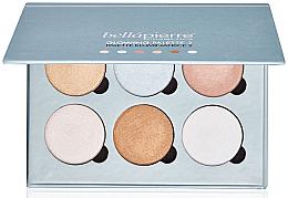 Düfte, Parfümerie und Kosmetik Gesichtsilluminator-Palette - Bellapierre Cosmetics Glowing Palette 2
