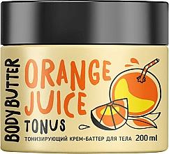 Düfte, Parfümerie und Kosmetik Tonisierende Körpercreme-Butter mit Orangenduft - MonoLove Bio Orange Juice Body Butter