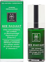 Düfte, Parfümerie und Kosmetik Anti-Aging Gesichtsserum mit Orangenstammzellen und Vitamin C - Apivita Bee Radiant Age Defense Illuminating Serum