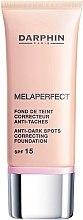 Düfte, Parfümerie und Kosmetik Foundation mit Vitamin C und UV-Schutz SPF 15 - Darphin Melaperfect Anti-Dark Spots Correcting Foundation SPF 15