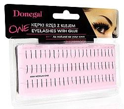 Düfte, Parfümerie und Kosmetik Wimpernbüschel-Set (Wimpernbüschel + Wimpernkleber) 4464 - Donegal Eye Lashes With Glue Medium One