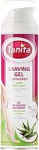 Düfte, Parfümerie und Kosmetik Rasiergel mit Aloe Vera Extrakt für Frauen mit trockener und empfindlicher Haut - Tanita Body Care Shave Gel For Woman
