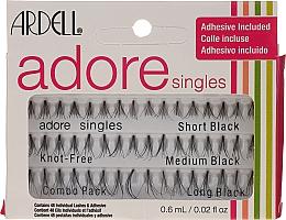 Düfte, Parfümerie und Kosmetik Ardell Adore Singles - Wimpernbüschel-Set