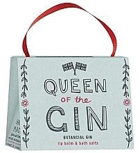 Düfte, Parfümerie und Kosmetik Körperpflegeset - Bath House Barefoot & Beautiful Queen Of The Gin (Lippenbalsam 15g + Badesalz 100g)