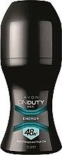 Düfte, Parfümerie und Kosmetik Deo Roll-on Antitranspirant - Avon On Duty Men Energy Antiperspirant Roll-On