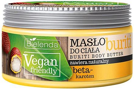 Körperbutter mit Beta-Carotin - Bielenda Vegan Friendly Buriti Body Butter — Bild N1