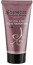 Düfte, Parfümerie und Kosmetik Fluid-Foundation - Benecos Natural Light Fluid Foundation