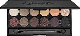 Düfte, Parfümerie und Kosmetik Lidschattenpalette - Sleek MakeUP i-Divine Mineral Based Eyeshadow Palette Au Naturel