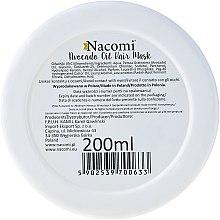 Haarmaske mit Keratin und Avocadoöl - Nacomi Natural With Keratin & Avocado Oil Hair Mask — Bild N2